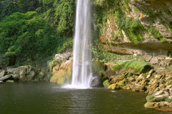 Cascada (Wasserfall) Misol ha Stockbilder