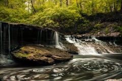 Cascada Wispy fotografía de archivo libre de regalías