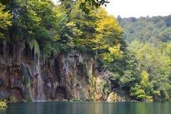 Cascada y lago del plitvice Imagenes de archivo