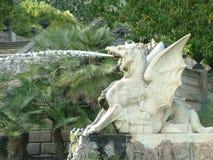 Cascadamonument - Parc DE Ciutadella Stock Foto's