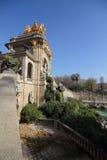 Cascadamonument, Parc-dela Ciutadella, Barcelona, Spanje Stock Afbeeldingen