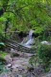 Cascadas Imagenes de archivo