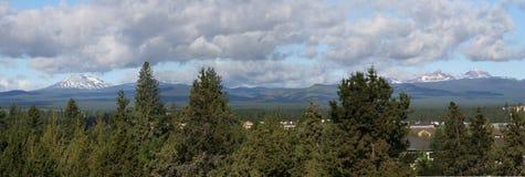 Cascadas centrales de Oregon Foto de archivo libre de regalías