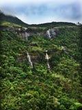 Cascadas cerca del pico del ` s de Adán Fotografía de archivo libre de regalías