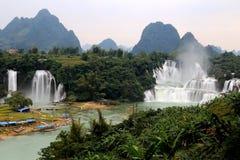 Cascadas de Detian en Guangxi, China Fotos de archivo