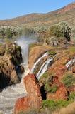 Cascadas de Epupa Imagen de archivo