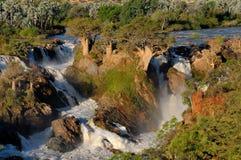 Cascadas de Epupa Imagenes de archivo