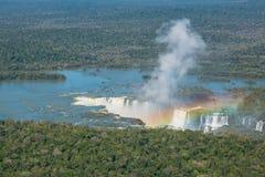 Cascadas de Iguacu Imágenes de archivo libres de regalías