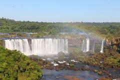 Cascadas de Iguassu fotos de archivo