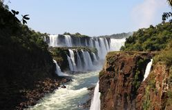 Cascadas de Iguassu foto de archivo