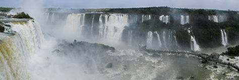 Cascadas de Iguazu foto de archivo