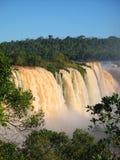 Cascadas de Iguazu Imágenes de archivo libres de regalías