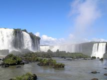 Cascadas de Iguazu Imagen de archivo libre de regalías