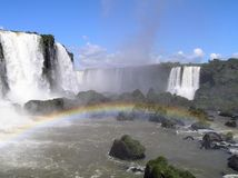 Cascadas de Iguazu Imagenes de archivo