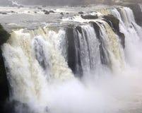 Cascadas de Iguazu, el Brasil, la Argentina Fotos de archivo libres de regalías