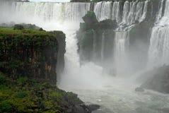 Cascadas de Iguazu - la Argentina. foto de archivo