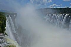 Cascadas de Iguazu, Misiones, la Argentina Imagen de archivo
