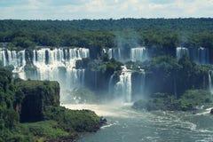 Cascadas de Iguazu, Misiones, la Argentina Foto de archivo