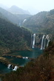 Cascadas de Jiulong en Luoping Imagenes de archivo