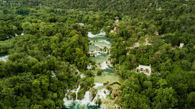 Cascadas de Krka Imagenes de archivo