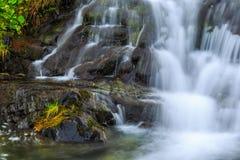 Cascadas de la montaña en las montañas de Transylvanian Imágenes de archivo libres de regalías