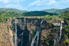 Cascadas de la sacudida en la India meridional Imagen de archivo libre de regalías