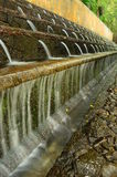 Cascadas de Littles en el fountaine del parque nacional foto de archivo