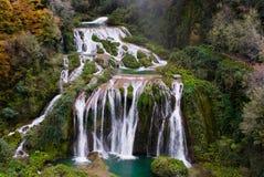 Cascadas de Marmore, Italia Fotos de archivo libres de regalías