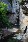 Cascadas de Momin Skok en Bulgaria Imágenes de archivo libres de regalías