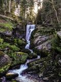 Cascadas de Triburg Imagenes de archivo