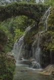 Cascadas de Venus Italia, Cilento, Casaletto Spartano Imágenes de archivo libres de regalías