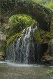 Cascadas de Venus Italia, Cilento, Casaletto Spartano Foto de archivo libre de regalías