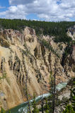 Cascadas de Yellowstone Imagen de archivo