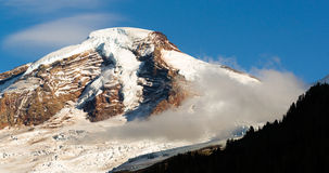 Cascadas del norte Mt Panadero Heliotrope Ridge Glacier Peaks Fotografía de archivo