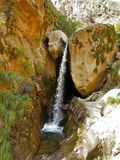 Cascadas delrio Colorado Trek royaltyfria bilder