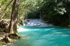 Cascadas El Chiflon waterfall, Chiapas,. Mexico royalty free stock images