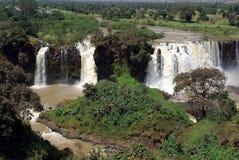 Cascadas en Etiopía Fotos de archivo
