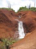 Cascadas en Kauai Imagen de archivo