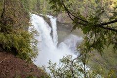 Cascadas en Oregon Foto de archivo libre de regalías