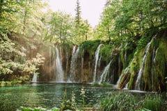 Cascadas hermosas Fotografía de archivo
