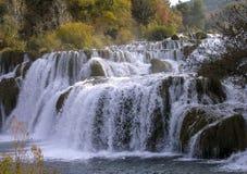 Cascadas Krka Fotos de archivo