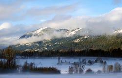 Cascadas nubladas Fotos de archivo