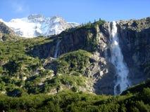Cascadas suizas Foto de archivo libre de regalías