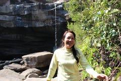 Cascadas y naturaleza Imagen de archivo
