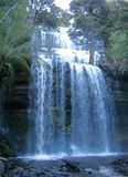 cascade à écriture ligne par ligne de l'australie photographie stock libre de droits