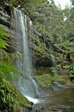 Cascade à écriture ligne par ligne en Tasmanie photos stock