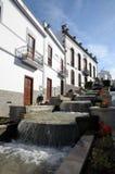 Cascade à écriture ligne par ligne à Firgas, Gran Canaria Photo libre de droits