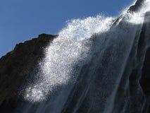 Cascade à écriture ligne par ligne 2 Photos stock