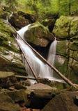 Cascade à écriture ligne par ligne Photographie stock libre de droits