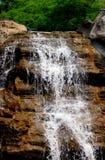 Cascade à écriture ligne par ligne Photo libre de droits